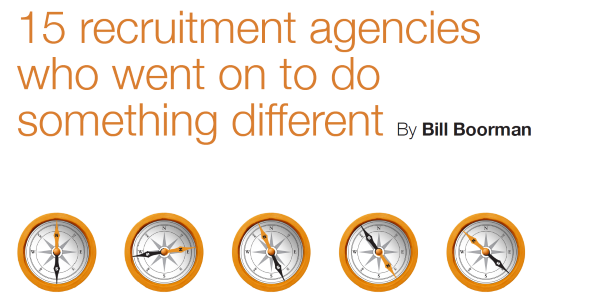 Whitepaper – 15 agencies who went on to do something different by Bill Boorman
