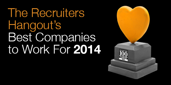 Whitepaper – The Recruiters Hangout – Sunday Times Best Companies to Work For 2014 #RecHangout